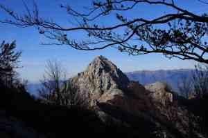 Picco delle Alpi Apuane in Garfagnana