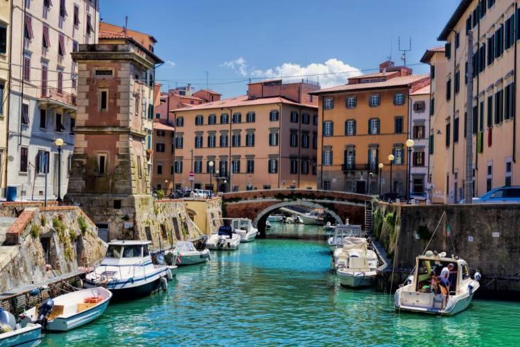 Fossi e canali a Livorno