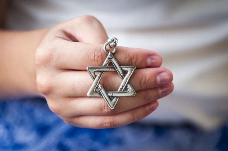 La stella di David è formata da due triangoli equilateri