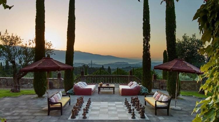 La Tenuta Il Palagio, la villa di Sting in Toscana a Figline Incisa Valdarno