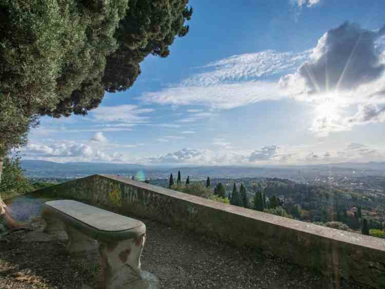 Panorama da Fiesole verso Firenze