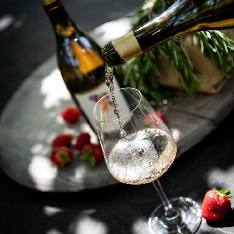 Bottiglia di Chardonnay di Montemaggio