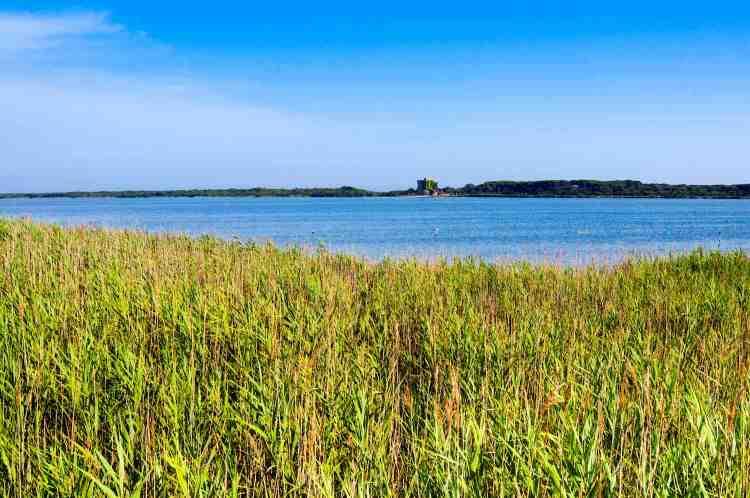 Il Lago di Burano è un'Oasi del WWF nella Maremma toscana
