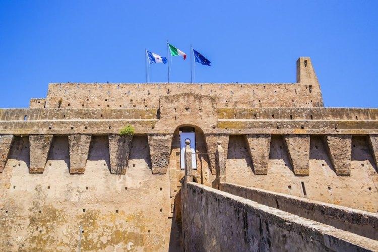La Fortezza Spagnola di Porto Santo Stefano, sede del Museo della Navigazione
