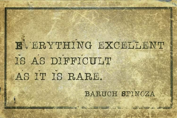 Famoso aforisma di Baruch Spinoza