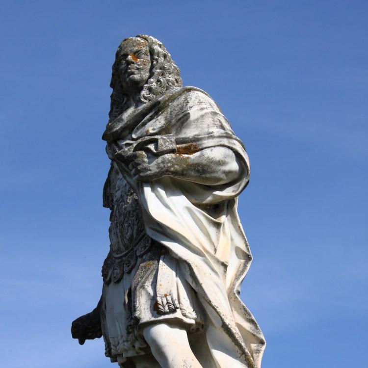 Statua di Cosimo III dei Medici a San Quirico d'Orcia