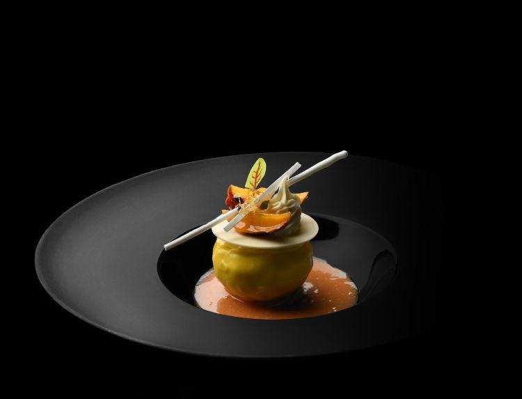 Portata del menù degustazione del ristorante Franco Mare a Marina di Pietrasanta
