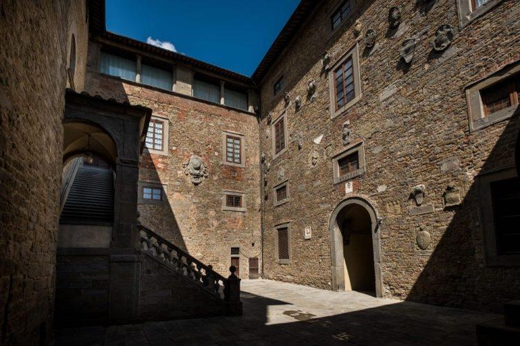 Palazzo Casali a Cortona è la sede del MAEC: Museo dell'Arte Etrusca e della Città di Cortona