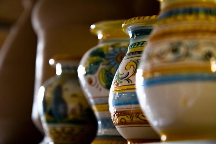 La ceramica è uno dei famosi prodotti tipici toscani