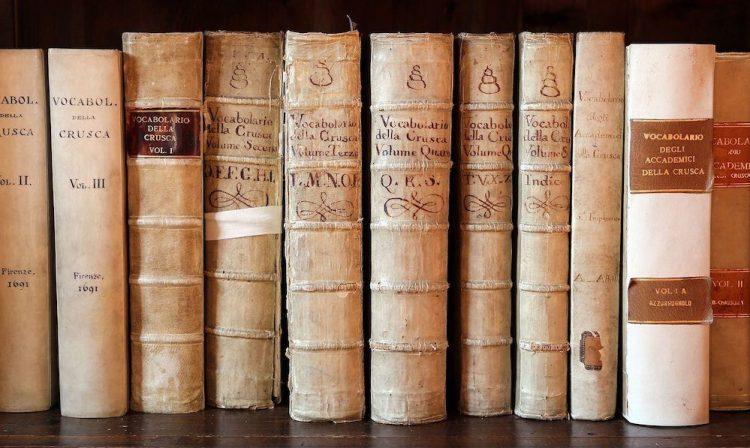 Edizioni originali dei Vocabolari dell'Accademia della Crusca