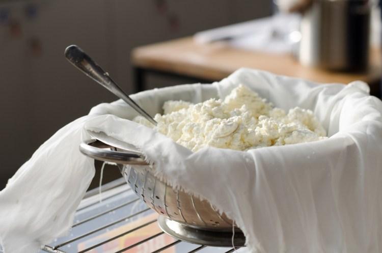 Laboratorio di produzione di formaggio