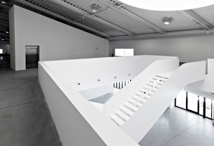 Scale interne al Centro Luigi Pecci di Prato