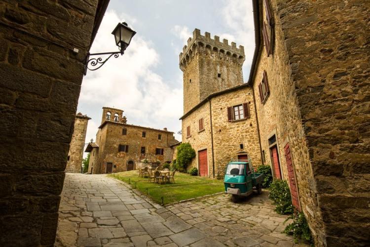 Castello di Gargonza a Monte San Savino nella Valdichiana senese
