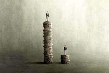 Rappresentazione grafica della disuguaglianza di salario