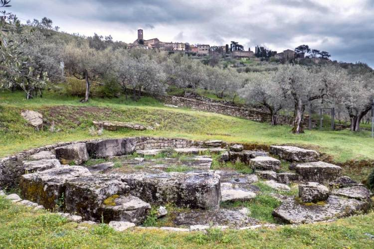Tomba etrusca vicino a Cortona