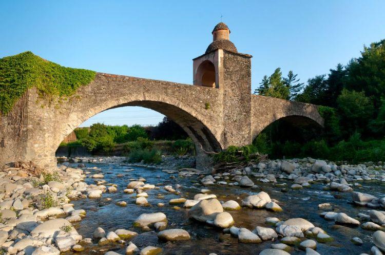 L'antico Ponte di Chiosi a Pontremoli in Lunigiana