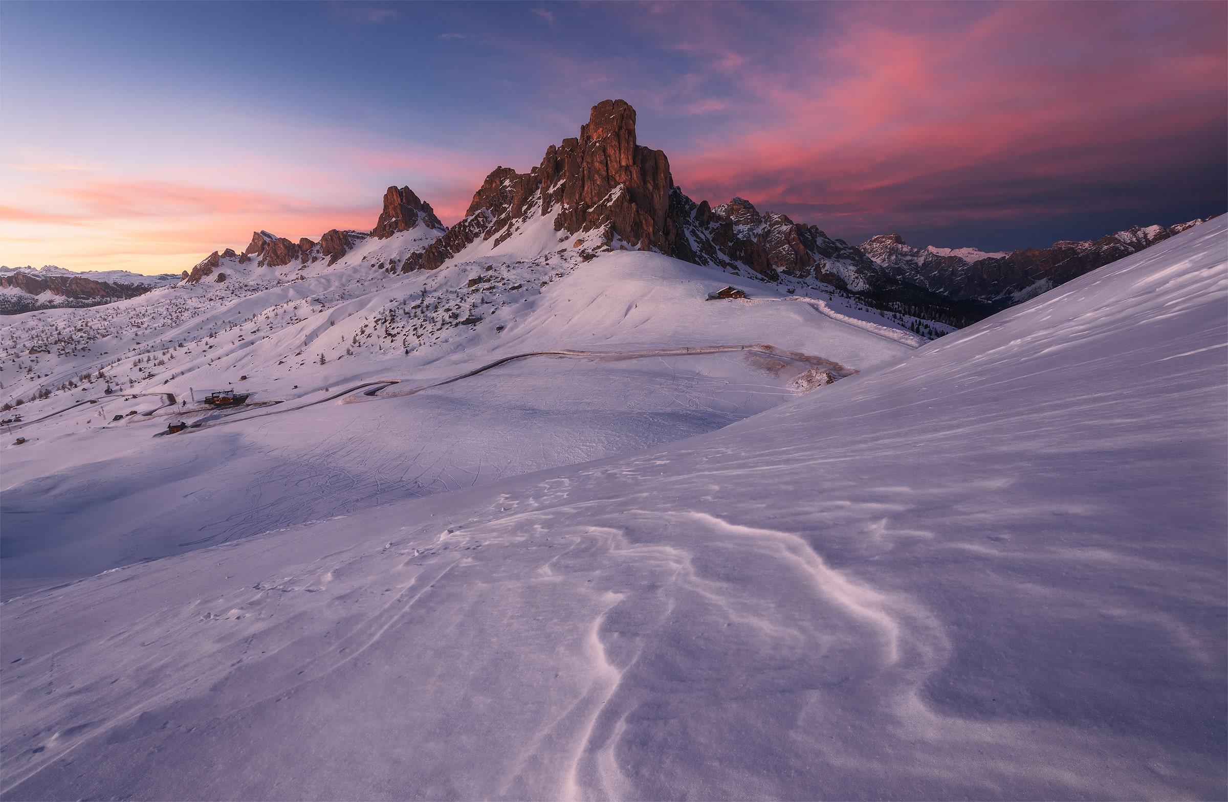 dolomites winter photo tour