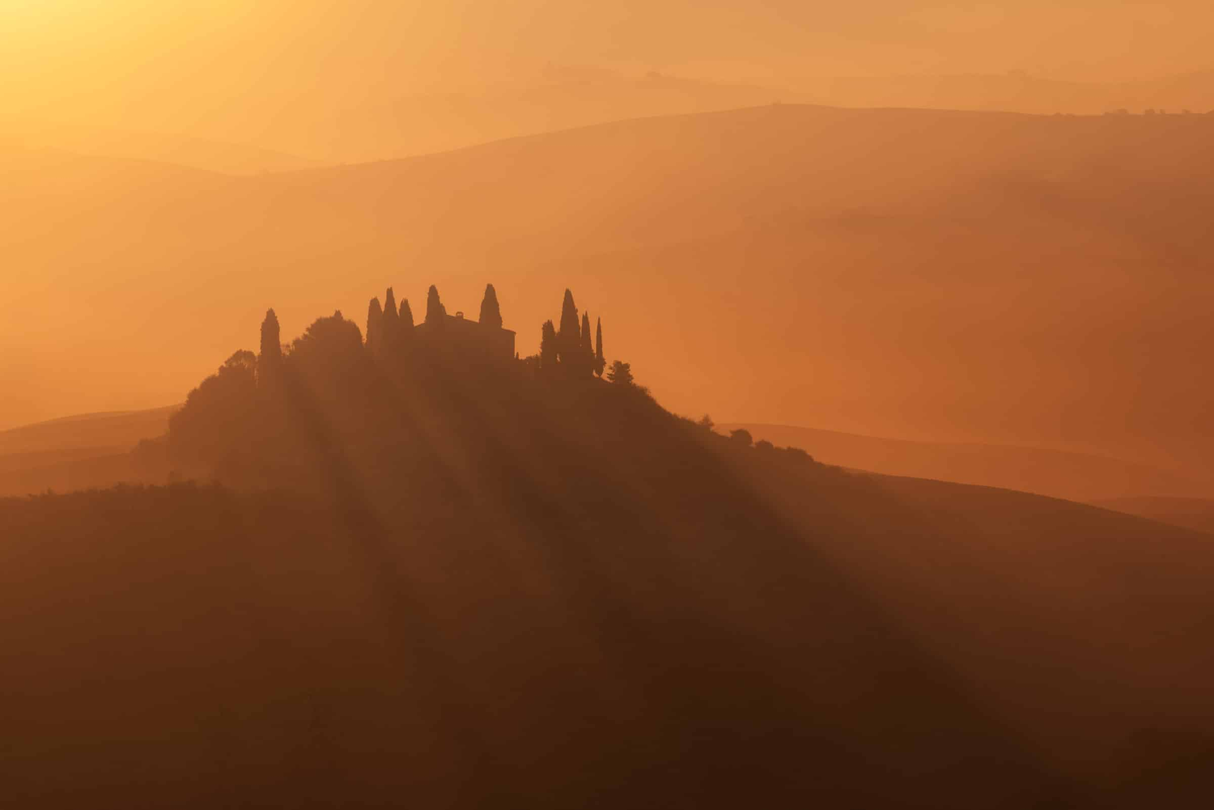 podere belvedere photo tour in tuscany