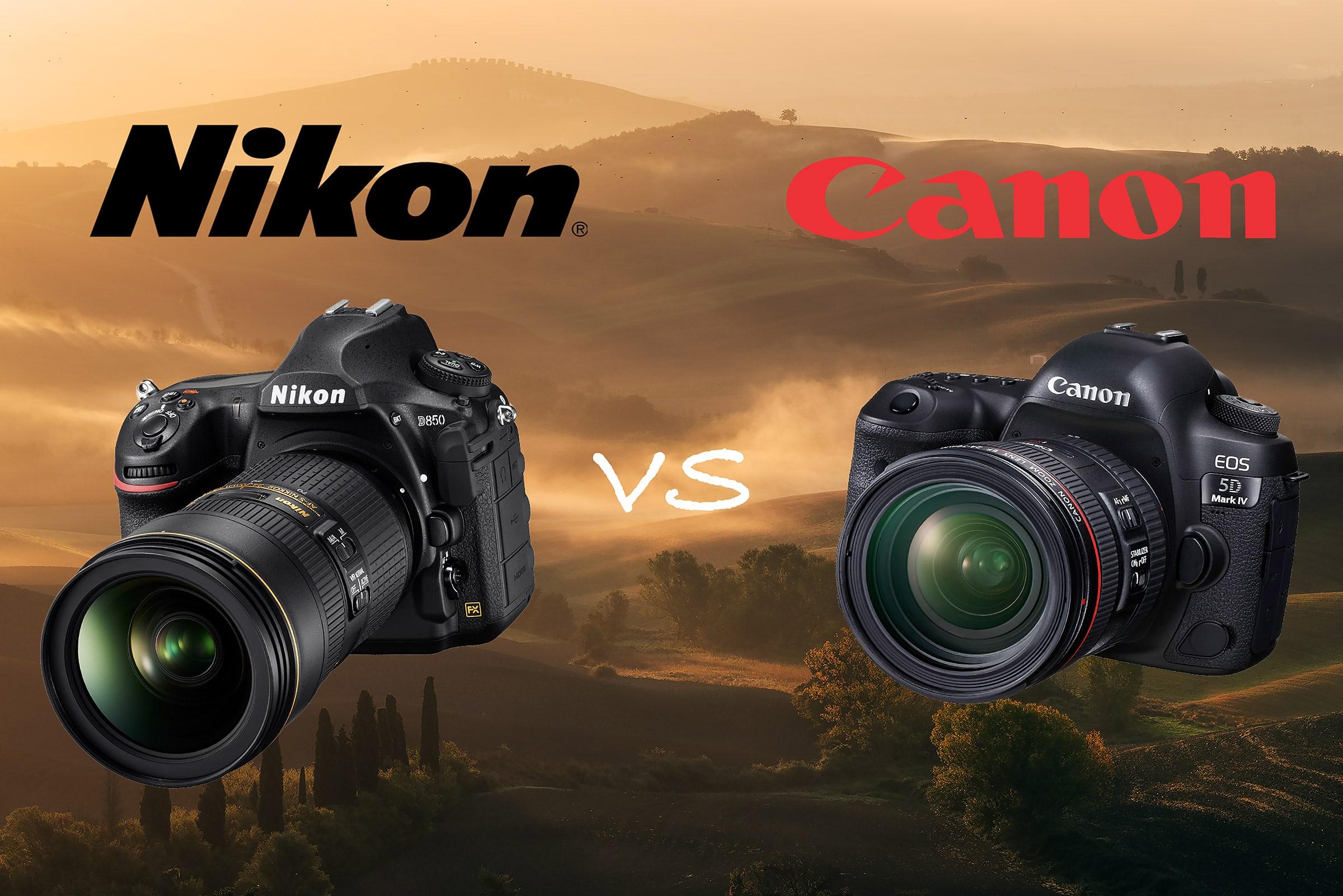 nikon vs canon comparison test