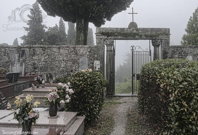 Castelvecchio Cemetery Gate