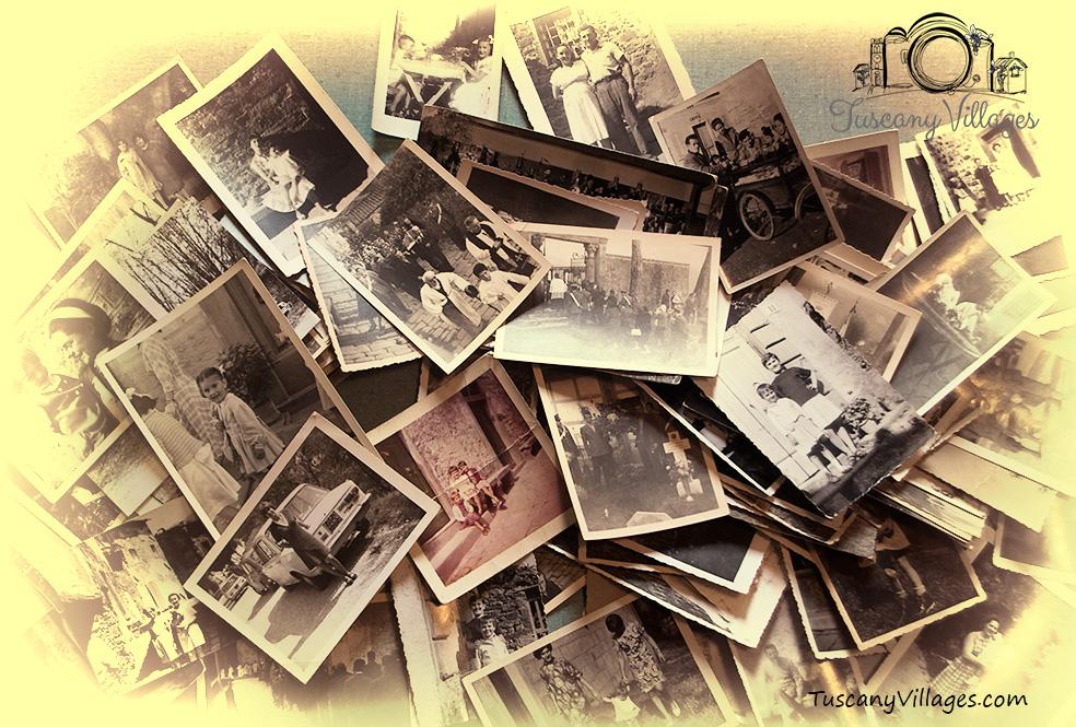 Vintage Image, Castelvecchio, Pescia