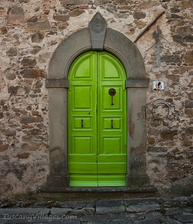 Lime Door