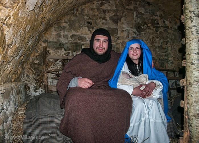 Joseph & Mary visit the cantina