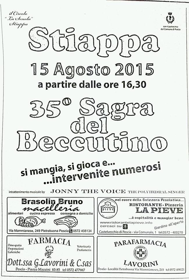 Sagra del Beccutino 35 poster