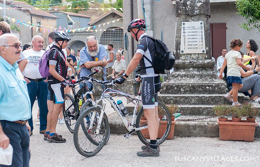 Bikers in Stiappa