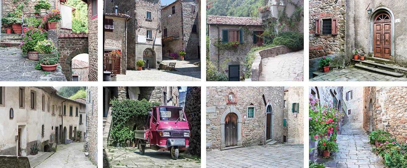 Cup 11oz picture collage Le Dieci Castella