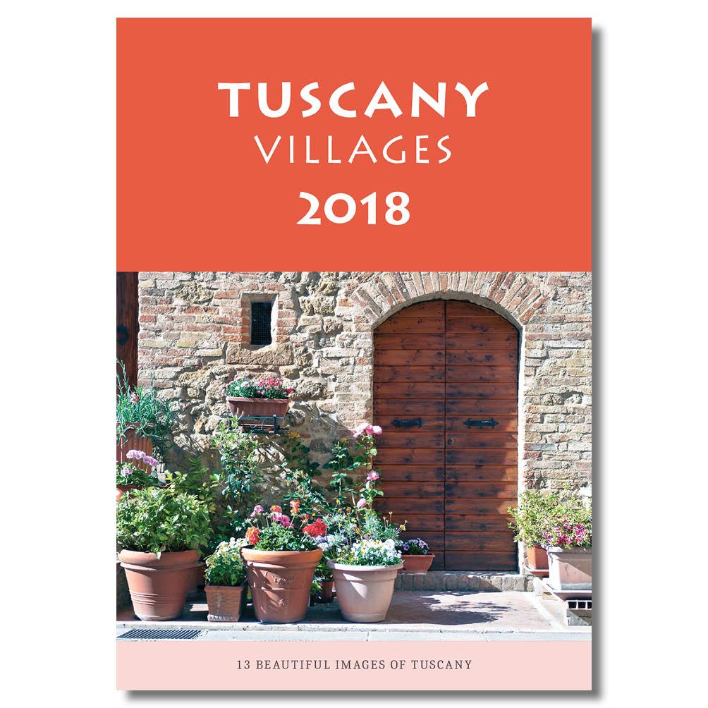 Tuscany 2018 Wall Calendar