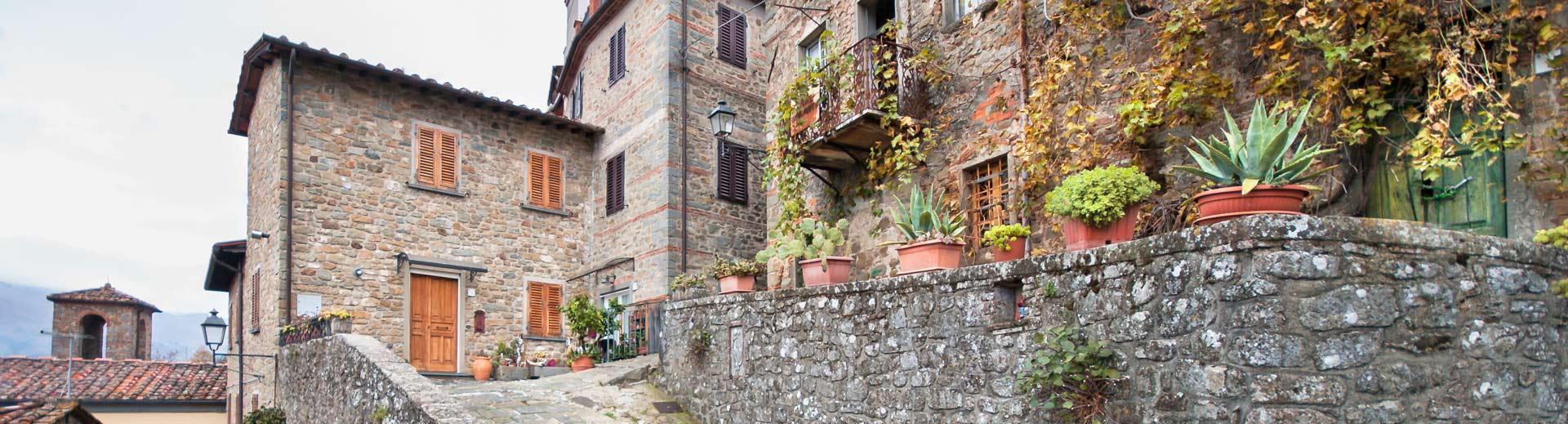 Aramo village houses, Aramo, Tuscany