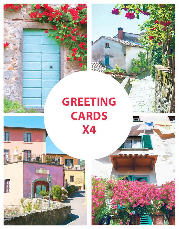 Greeting Cards, Tuscany, Italy