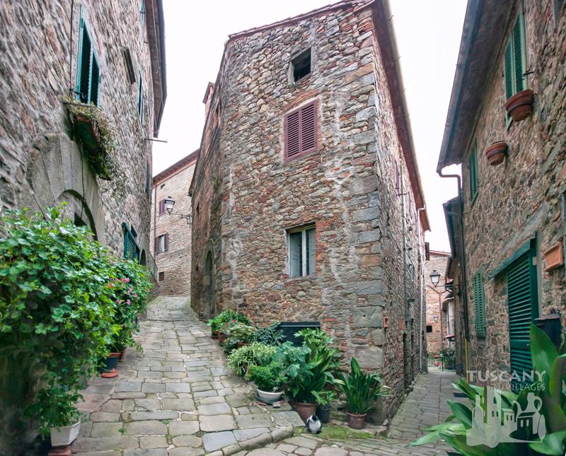 Tuscan pathways in Village
