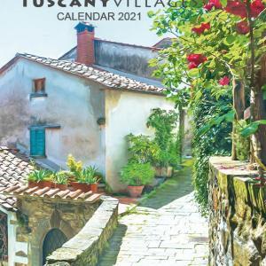 2021 Calendar page Tuscany, Italy