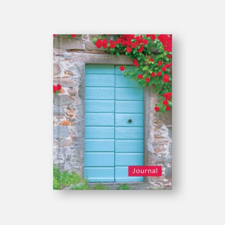 Tuscan Door & Flowers Journal by TuscanyVillages