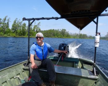 Towboat on Saganaga Lake, BWCA