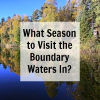What is the best season to visit the Boundary Waters in