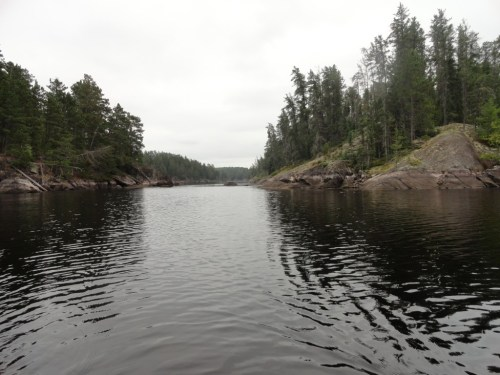 Falls Chain Quetico Canoe Trip
