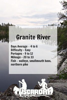 Granite River pin