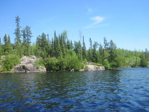 Marabouef Lake Campsite Granite River BWCA canoe route paddle trip