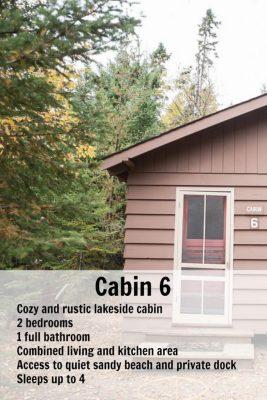 Cabin 6 pin