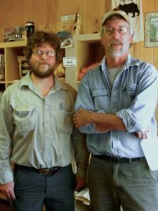 Tom Kaffiene and Tamer