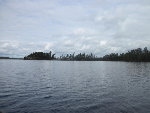 U.S. side of Saganaga Lake Boundary Waters Canoe Area Wilderness