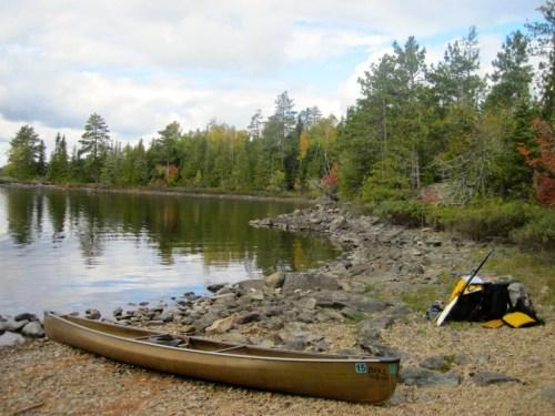 Sagnaga Lake Ontario Canada Quetico Cache Bay ranger station