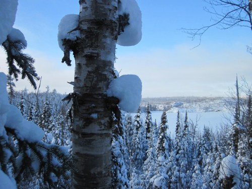 January Round Lake Gunflint Trail Boundary Waters winter trip