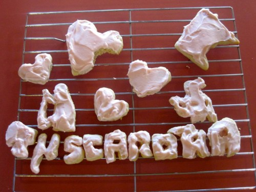 Tuscarora Lodge sugar cookies valentine's day sweets