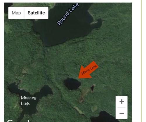 MavisLakeBWCAW map