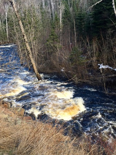 High water Cross River Rapids Spring 2016