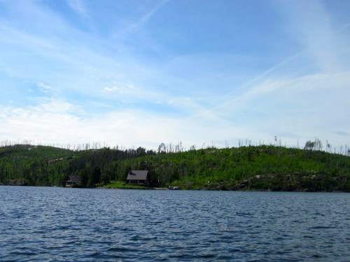 Chalet Cabin on Magnetic Lake's Gallagher's Island